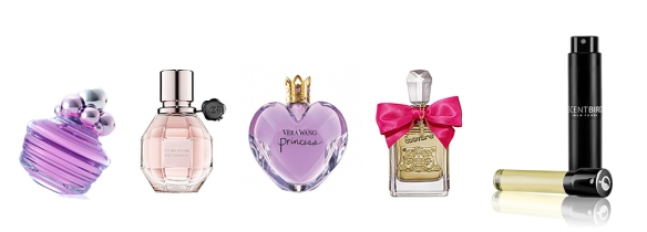 Perfume wall